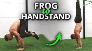 How to do the frogstand to handstand