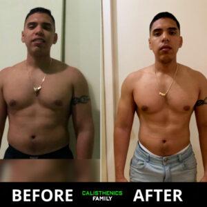 Transformation Weight Loss Calisthenics