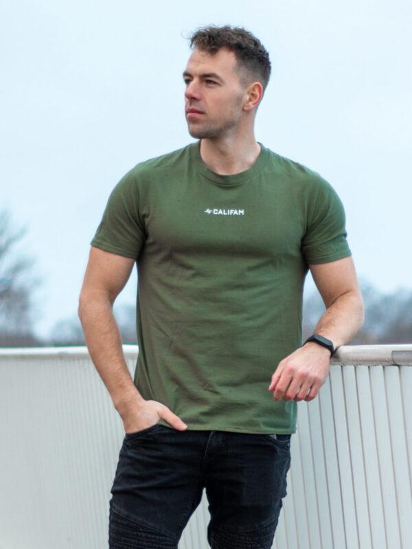 Calisthenics Family T-Shirt - Military Green