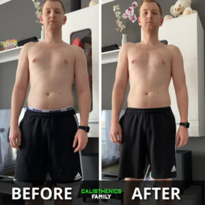 Keving Transformatie Calisthenics Weight Loss