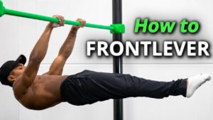How to frontlever Calisthenics workout